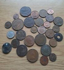 Job Lot Of Old Mixed Foreign World Coins