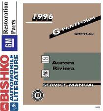 1996 Oldsmobile Aurora Buick Riviera Shop Service Repair Manual CD Factory OEM