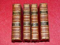 DAVILA HISTOIRE GUERRES CIVILES EN FRANCE 16e Complet 4/4 1666 Rocolet Baudoin