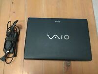 Sony Vaio Laptop w/ cahrger