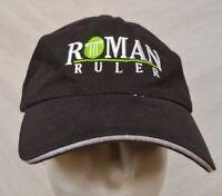 ROMAN RULER STRAPBACK HAT CAP HILL N DALE HORSE FARM RACE KENTUCKY CHAMPION SIRE
