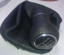 Audi A6 C5 A4 B5 A8 D2 Gear shift stick Gaiter Knob 5 SPEED NOIR NEUF 4B0863279A