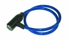 Cycle Motor Mountain Bicycle Cable Blue Kids Trolly Security Bike Lock with keys