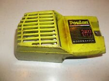 Used Poulan 2400 bar and clutch cover