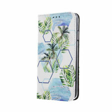 ABSTRAKTION Handy Tasche Book Case Hülle Tropical Etui Samsung Galaxy A40