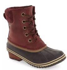Women's SOREL 'Slimpack II' Waterproof Boot Redwood SZ 7.5