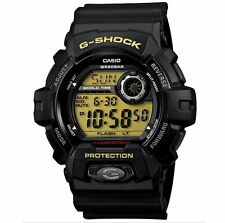 Casio G Shock g-8900-1 Watch World Time Alarm Timer Black Aluminum