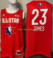 LeBRON JAMES LA Lakers 2020 Jordan RED Kia ALL STAR GAME Swingman Jersey S-2XL