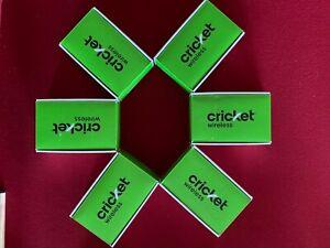 NEW Motorola Moto e5 Play Smartphone Cricket - Wholesale Lot - 6 Phones