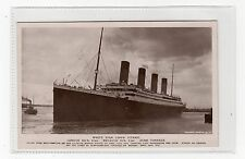 More details for white star liner titanic: post disaster shipping postcard (c2832).