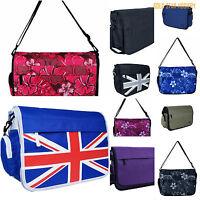 New Man Women UNISEX Messanger Shoulder Bag Travel School Bag Fits A4 10 Colous