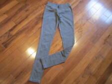LULULEMON LIVE SIMPLY straight leg fleece pants in heathered grey size 6