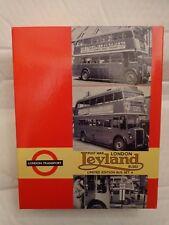 EFE 1/76 LONDON TRANSPORT MUSEUM SET 4 POSTWAR LEYLAND BUS SET - 99913