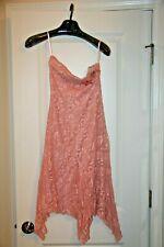 Arden B - Women's Floral Pink Strapless Starlet Dress - Size S - NWT