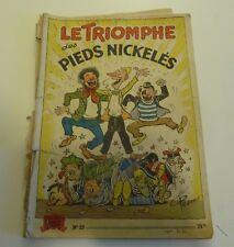 NOV9 --  LES  PIEDS NICKELÉS   N° 20   édition originale 1953