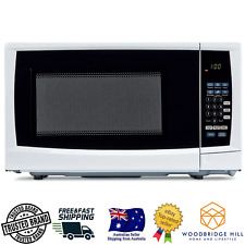 White Microwave 20L -Child Safety lock 6 Auto Cooking Settings With 10 Power Lvl