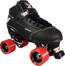 Roller Derby Elite Stomp Factor Mens Ladies Quad Fashion Roller Skates US Size 8