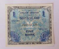Geldschein 1 Eine Mark  Reichsbanknote  046562794 1944 ♥ (15G)