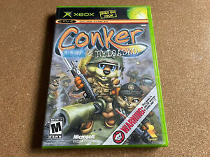 Microsoft XBOX Conker: Live & Reloaded COMPLETE In GREAT Playable Condition!!