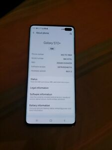 Samsung Galaxy S10+ Plus SM-G975U - 128GB - Flamingo Pink (Sprint) (Single SIM)