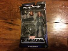 BLACK WIDOW MARVEL LEGENDS INFINITE SERIES FIGURE CAPTAIN AMERICA SCARLET