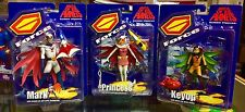 Battle Of The Planets G Force Series 1 Action Figure Set 2002 New RARE L@@K
