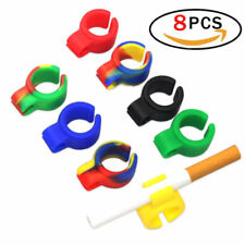 8x Cigarette Holder Ring Hands Free for Console Gamers Guitar Players and Driver