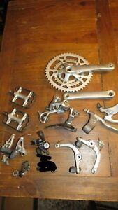 Vintage Shimano Deore MT60 crankset shifters Derailleur Pedals Mountain Bike