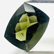 Genuine Moldavite Antico 3.99ct 12.1x9.9mm - Ausserirdisch