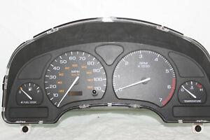 Speedometer Instrument Cluster 02 Saturn S SeriesDash Panel Gauges 78,503 Miles