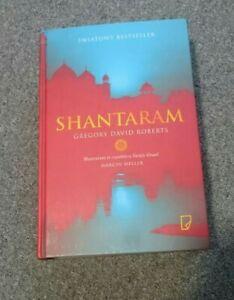 Shantaram Gregory David Roberts Polish Book Hard cover