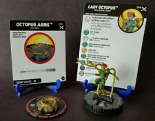 Heroclix Earth X set Lady Octopus (w/Octopus Arms) #049 Super Rare figure w/card