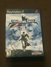 Sony PlayStation PS2 Soul Calibur III Video Game Rated T