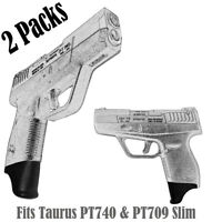 Pack of 2 1.25 Inch Long Grip Extensions Fits Taurus PT740 & PT709 Slim /2 PCS