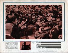 PRESIDENT JOHN F. KENNEDY/JFK campaigning Original 1964 Documentary Movie Poster