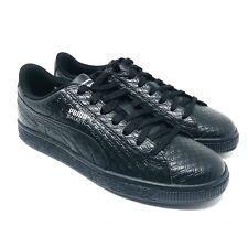 New Puma Basket Classic Black Men's Casual Shoes Size 5 M US NIB