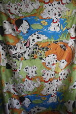 Disney Vintage Bedding 101 Dalmatians Twin Flat Sheet