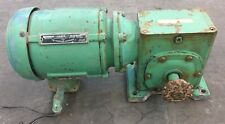 US ELECTRICAL MOTORS 3 PHASE MOTOR, 1 HP, 208 VOLTS, FRAME 143T, ID#64.05177.352
