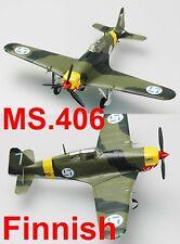 Easy Model 36326 1/72 MS.406 Finland AF Propeller Plane Warcraft Aircraft Model