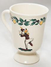 Disneyland Goofy Donald Pedestal Cup / Mug 12 Days of Christmas