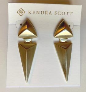 Kendra Scott Vivian Gold-Plated Statement Earrings