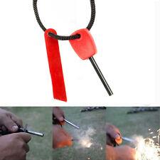 Camping Sport Survival Magnesium Flint Stone Fire Starter Emergency Lighter Kit