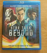 Star Trek Beyond (Blu-ray + DVD, 2016) NO DIGITAL CODE