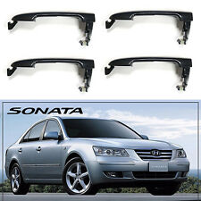 4 X Door Handle Catch All Doors for Hyundai Sonata NF 2005-2010 GENUINE OEM