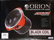 "ORION HCCA104 Black Coil 10"" 2000W RMS DVC DUAL 4 OHM CAR AUDIO BASS SUB WOOFER"