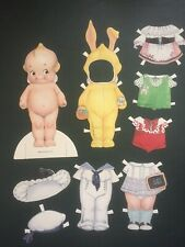 Shackman Pudgie Kids Paper Doll Set