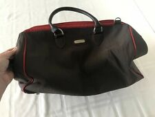 Baggallini Travel Bag Overnight Weekend Case Interior/Exterior Pockets Brown TS0