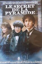 DVD du film LE SECRET DE LA PYRAMIDE de Barry Levinson, par Steven Spielberg
