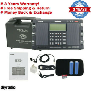 Tecsun H-501 64-108MHz Dual-Speaker DSP SSB Radio Music Player Bluetooth Speaker