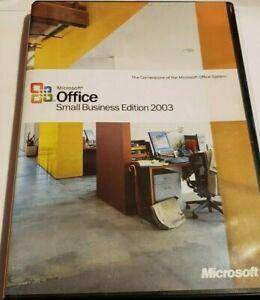 Microsoft Office Small Business Edition 2003 Upgrade Retail Windows